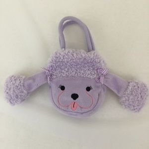Other - Fuzzy Wear Goody Bag Purple Poodle